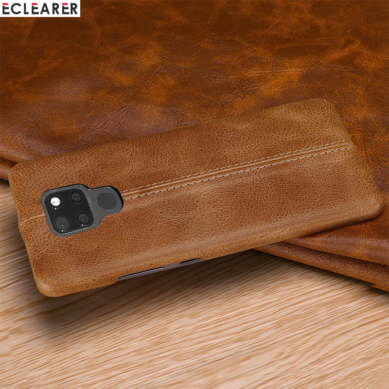 Huawei Mate 20 Pro Case Genuine Leather Case For Huawei Mate 20 X Cover Luxury Stitching Original Leather Case Huawei Mate 20 X in Fitted Cases from Cellphones Telecommunications
