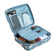 Women Travel Cosmetic Storage Bag Travel Toiletry Makeup Bea