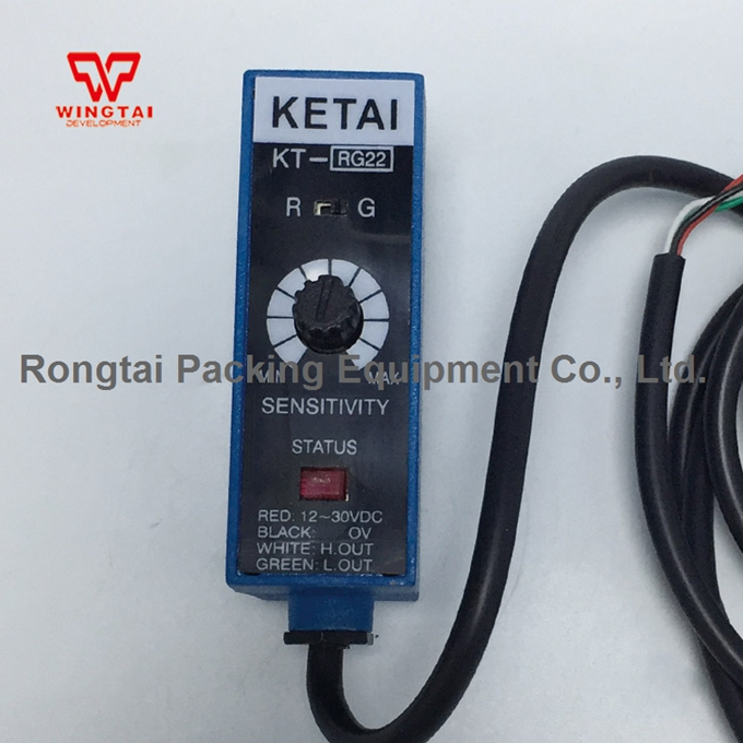 цена High Quality KETAI KT-RG22 Mark Color Sensor Optical Switch 0-10mA Analog output