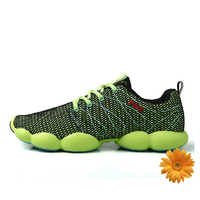 2015 New Brand Fashion Outdoor Air Walking Shoes Spring Summer Breathable Mesh Upper Cycling Shoes Mens