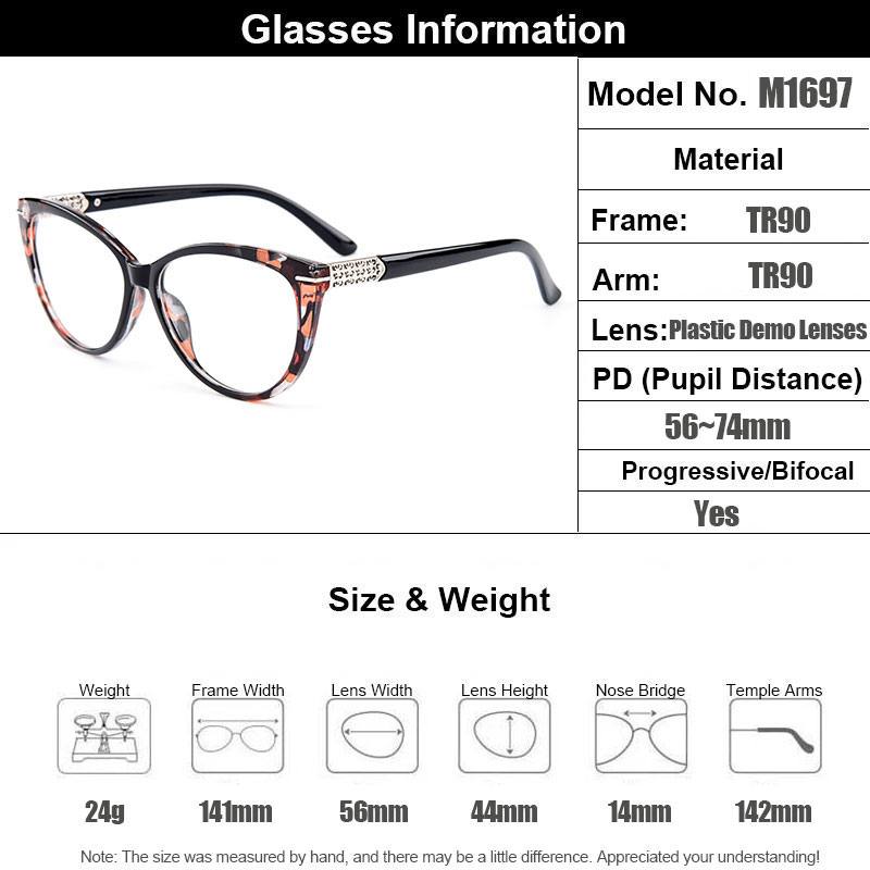 2a45ff03a7442 Gmei Optical Urltra-Light TR90 Cat Eye Style Women Optical Glasses ...