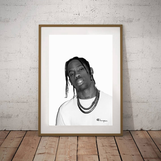 Travis Scott Canvas Prints And Poster Hip Hop Lyrics Rap Art Wall Decor