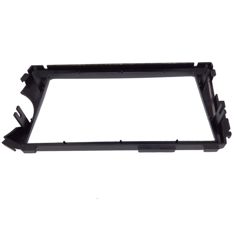 Image 4 - 2DIN Radio Fascia for SSANG YONG Actyon LHD (Left Hand Drive) Facia Dash CD Trim Installation mount Kit facia frame panel-in Fascias from Automobiles & Motorcycles