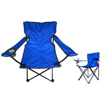 Oxford Cloth Lightweight Seat Portable Folding Camping Chair Fishing Chair for Outdoor Picnic BBQ Beach Colorful Chairs