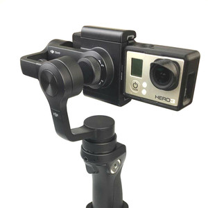Image 1 - GOPRO HERO 4 3/3 + อะแดปเตอร์ Mount PLATE สำหรับ DJI OSMO MOBILE Gimbal กล้อง