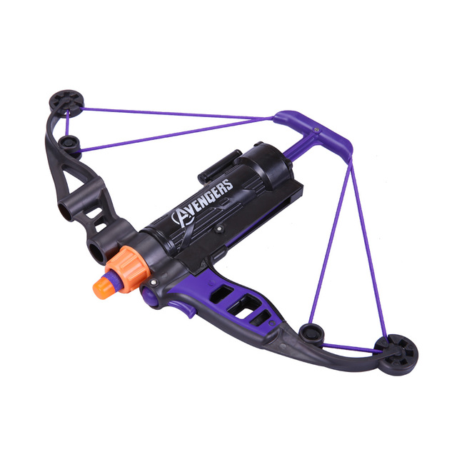 Baby Orbeez Power Toys Gun Bullets Avengers Boy Weapons Hawkeye Longshot Bow And Arrow Toy Gift For Children Kids Play Outdoor