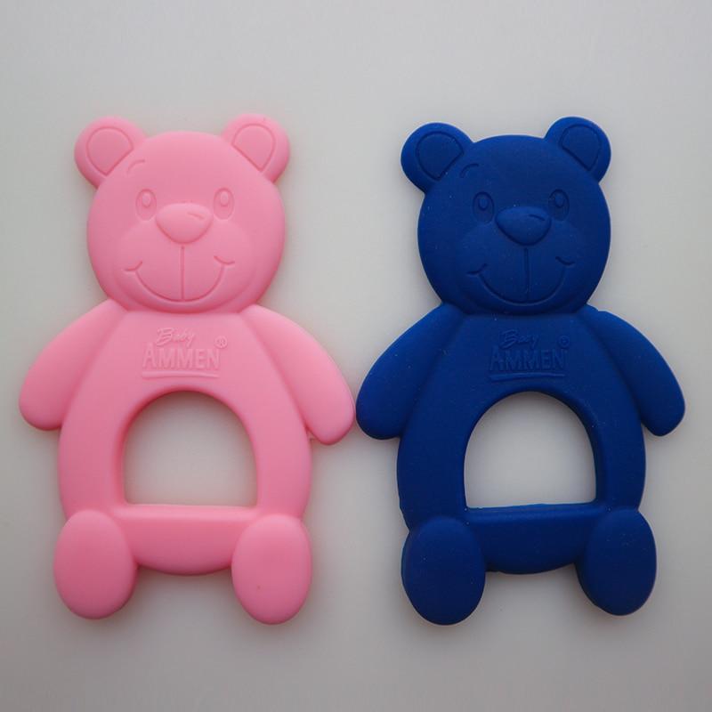 Baby Beißring Neugeborenes Baby Spielzeug Sicherheit Beißen Gummi - Säuglingspflege - Foto 6