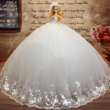 Hot Sell 45CM Wedding Dress Doll Top Grade Toys Collection Get Married Dolls Birthday Present For Girls Gift For Children 25