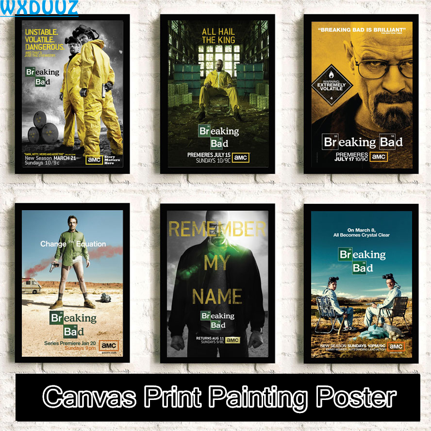 Online get cheap wall art breaking bad aliexpress alibaba group wxduuz breaking bad hero room bedroom living room poster wall art picture room painting canvas painting no frame a15 jeuxipadfo Choice Image