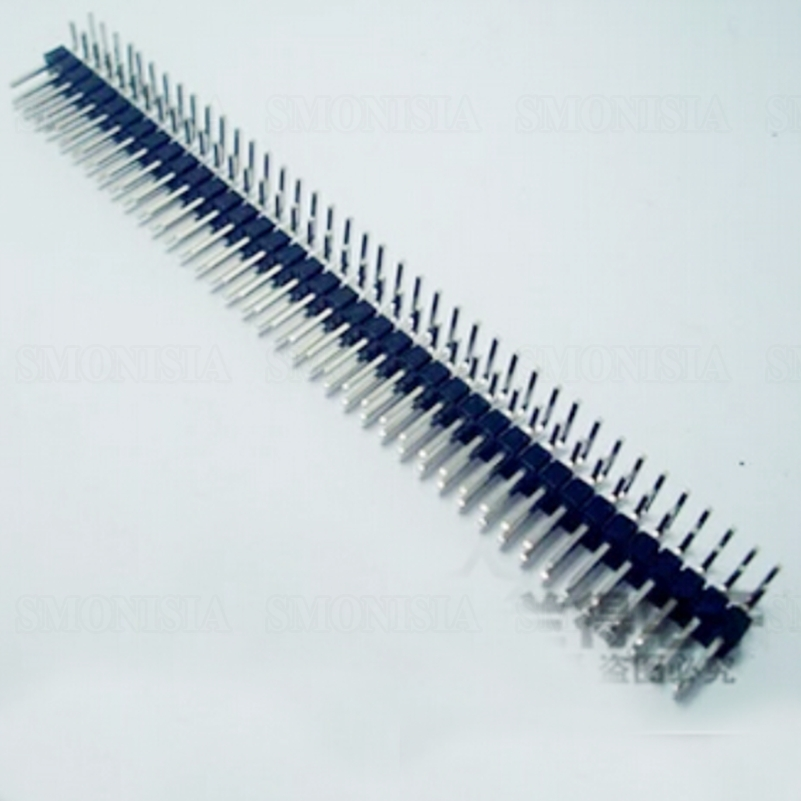 Pin Header Double Base Two Rows Elbow Pins 2*40PIN 2.54mm Spacing