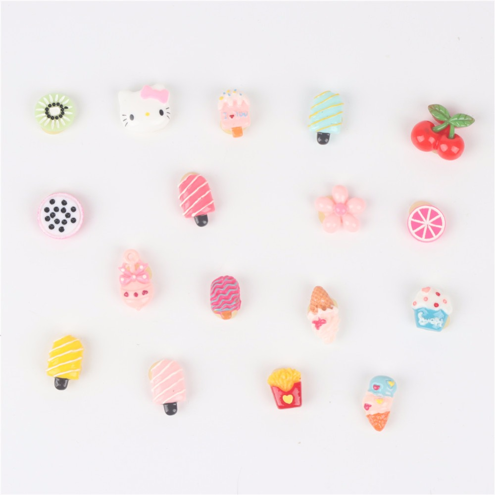 Small Dogs Bows Hair Accessories fruit ice cream Yorkshire For font b Pets b font Supplies