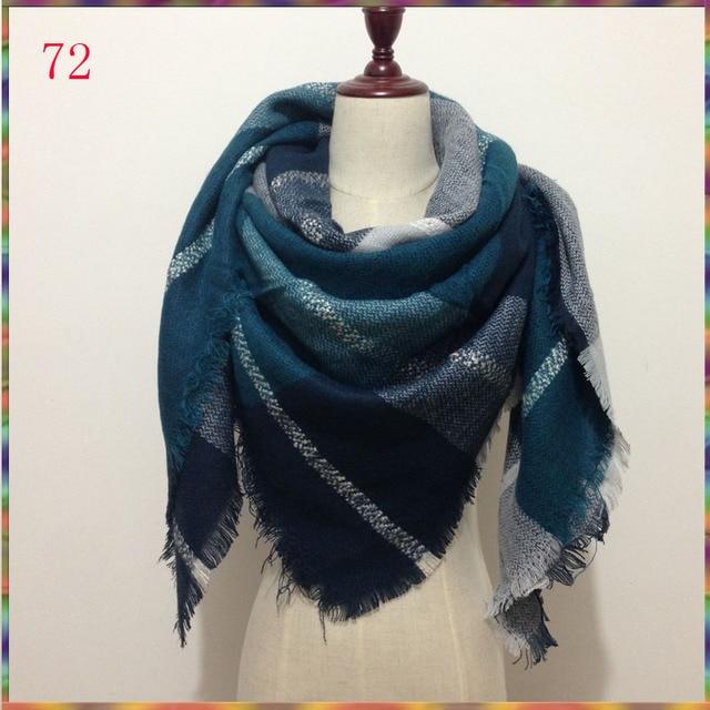 Nouvelle hiver Cachemire Châle Desigual Plaid Écharpe pashmina femmes  écharpe de luxe marque foulards vente chaude 6f12b7e3668