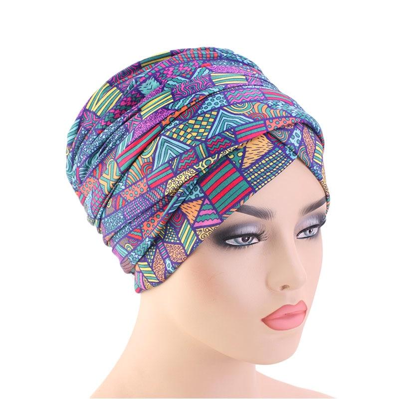 Bohemian Style Headwrap Long Headscarf Nigerian Turban Head Wrap in Women 39 s Skullies amp Beanies from Apparel Accessories
