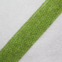 Mini Order Is 7 4 5mm Natural Peridot Chrysolite Olivine Round Loose Beads 15