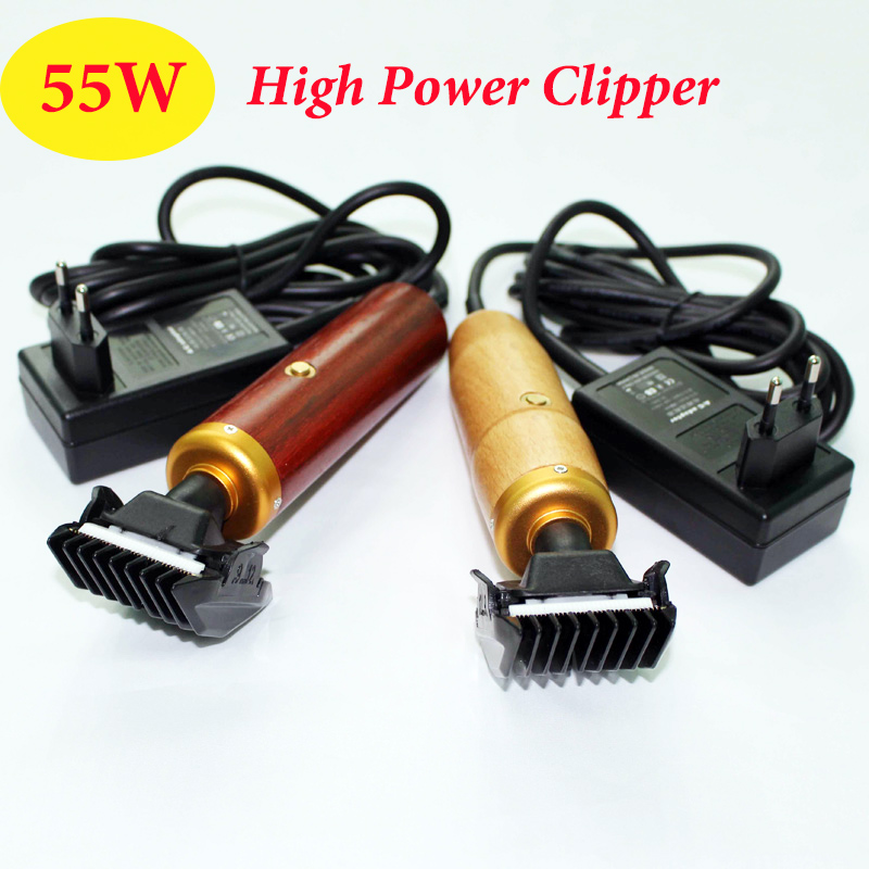 Professionelle Hund Clipper 55 Watt EU High Power Elektrische Schere Trimmer Fellpflege Katze Rinder Kaninchen Mäher Haarschneidemaschine
