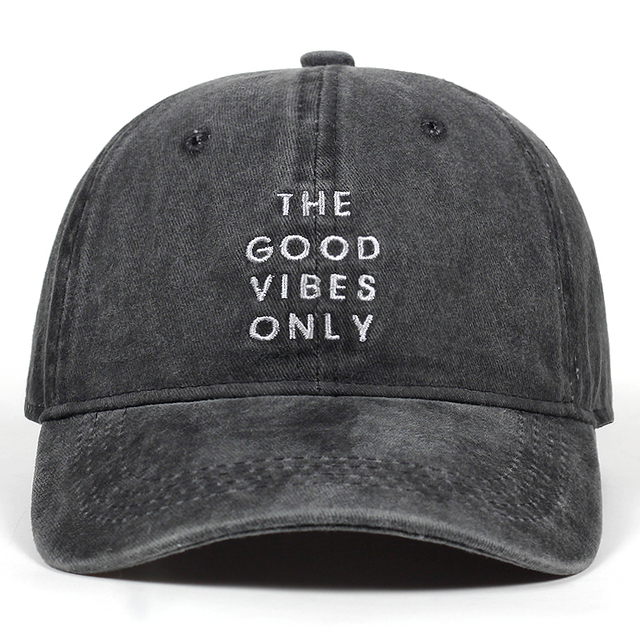 unisex fashion dad hat the good vibes only emberoidery baseball cap 5  colors available good quality 8c20412ae37