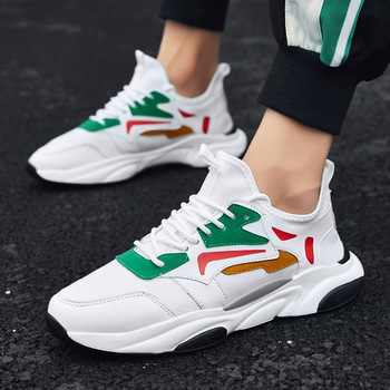 New Men's Sports and Leisure Shoes Spring Korean Fashion Breathable Shoes