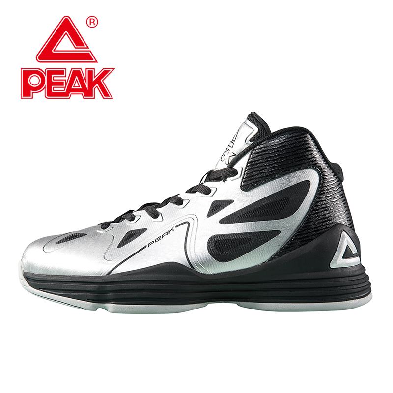 PEAK SPORT Galaxy Men Basketball Shoes Breathable Athletic Training Sneakers FOOTHOLD Gradient Dual Tech Ankle Boots EUR 40-47 original li ning men professional basketball shoes