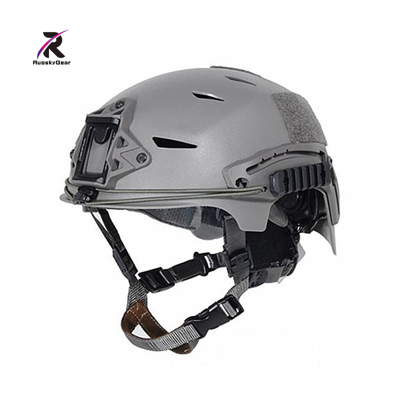 New EXFIL Tactical Bump Helmet Rapid Reaction Tactical Camouflage 3 Color Helmet Black / FG for Paintball Airsoft and Hunting 3 color camouflage tactical face paint sticks 20ml