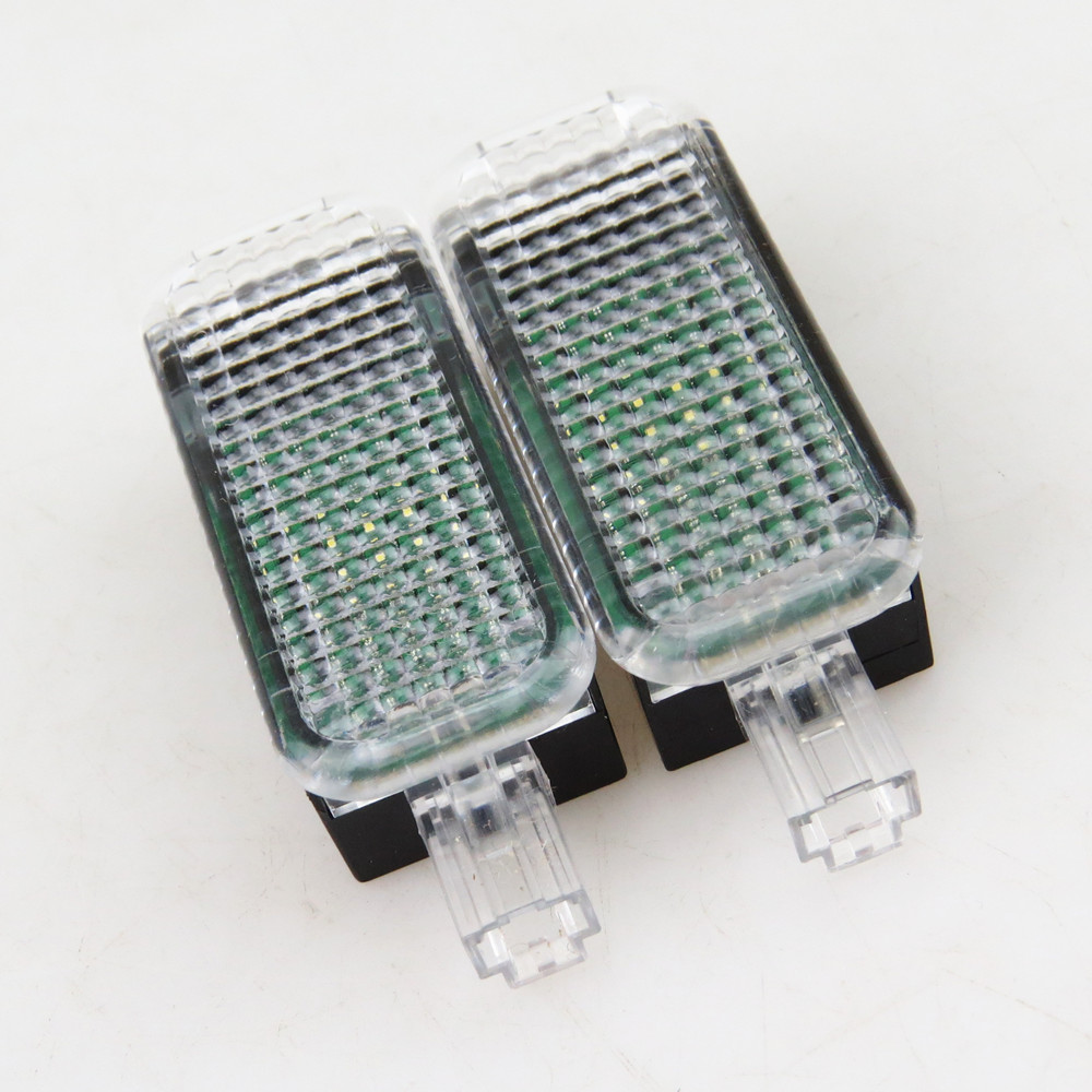READXT 2X Автомобильные светодиодные интерьерные фонари для гольфа 5 MK5 6 MK6 Passat B6 A4 S4 A6 S6 A3 A5 Q5 Seat Leon 3AD947409 3AD 947 409