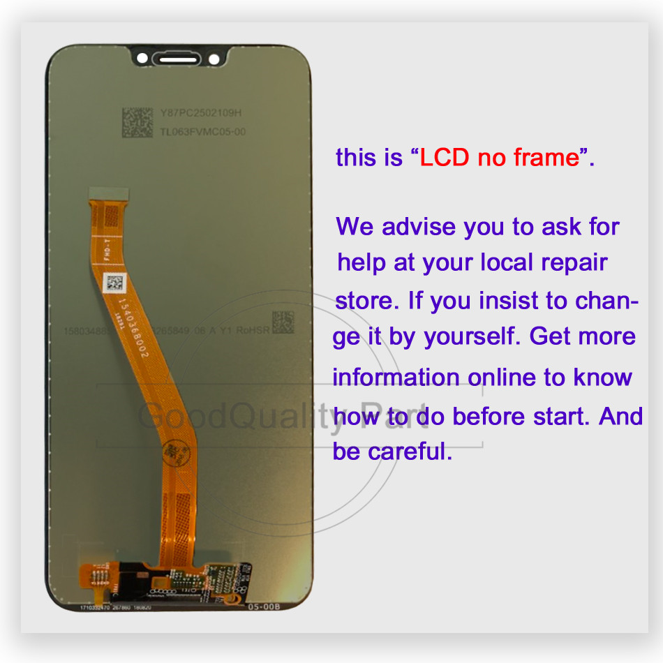 "Image 2 - 6.3"" lcd For Huawei Honor Play COR L29 COR AL00 COR TL10 LCD Display Digitizer Touch Screen Assembly For Huawei honor play-in Mobile Phone LCD Screens from Cellphones & Telecommunications"
