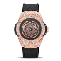 Switzerland watches men luxury brand sang diamond circle fashion trend men's watch luminous waterproof sports Herren uhren
