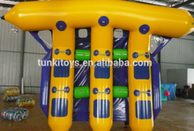 Купить с кэшбэком inflatable water flyfish boat with customized size and color and logo