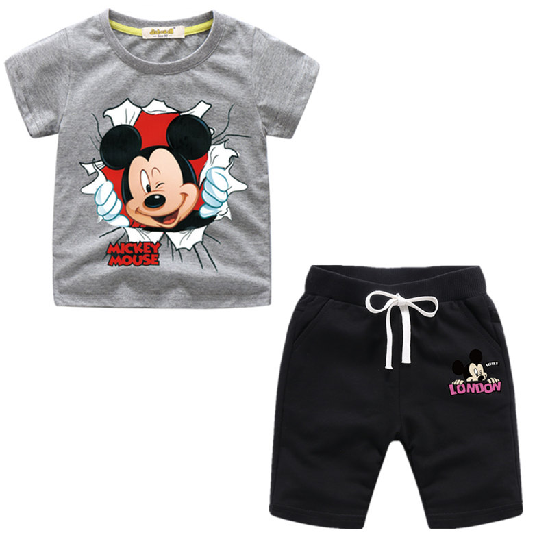 Mickey Mouse Set 2 Pcs Short T-Shirt