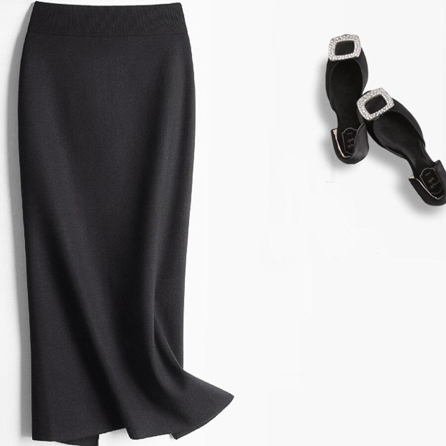 Online Get Cheap Long Stretch Knit Skirt -Aliexpress.com | Alibaba ...
