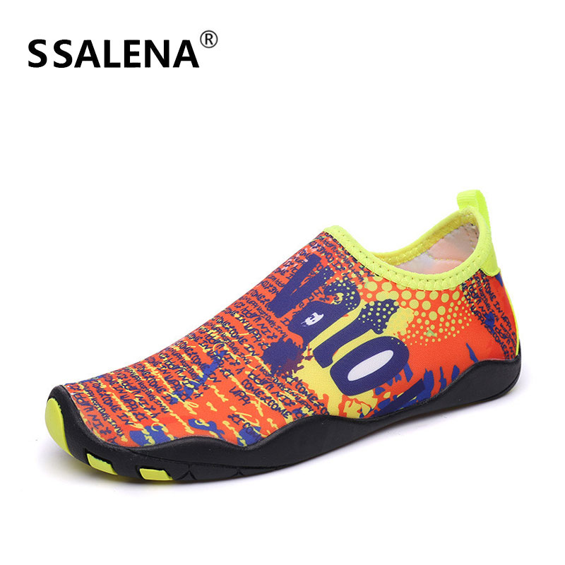 Men Lightweight Flat Beach Sandals Summer Outdoor Quick-Drying Male Shoes Women Breathable Swimming Yoga Skinny Shoes AA60062