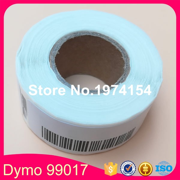 5*Rolls Free Shiping Dymo 99017 Label Compatible Etiketten 54x12mm for LW450 Turbo (Also Supply dymo 99017 99019 11354 11356)