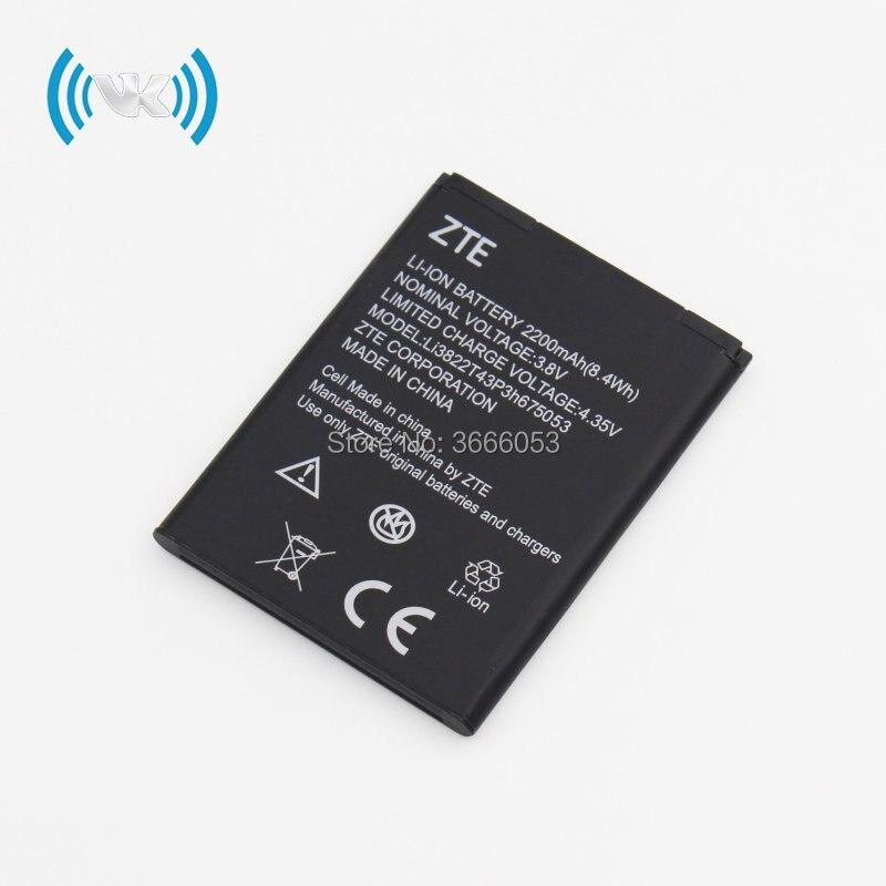 Original Li3823T43P3H735350 battery For ZTE Q802T Geek V975 U988S N986 V976  N976 MF64 4G Mobile WiFi Hotspot Z833 Z831 Z832