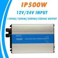 EPever 500W Pure Sine Wave Inverter 12V/24V Input 110VAC 120VAC 220VAC 230VAC Output 50HZ 60HZ High Efficiency Converter IPower