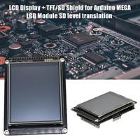 3.2 Inches LCD Display+TFT/SD Shield For Arduino MEGA LCD Module SD Level Translation Extension Board For Arduino MEGA