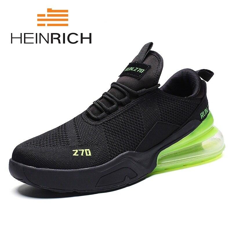 HEINRICH hommes chaussures été hauteur augmentant loisirs hommes chaussures appartements glisser hommes chaussures décontractées nouveaux arrivants Schoenen Mannen