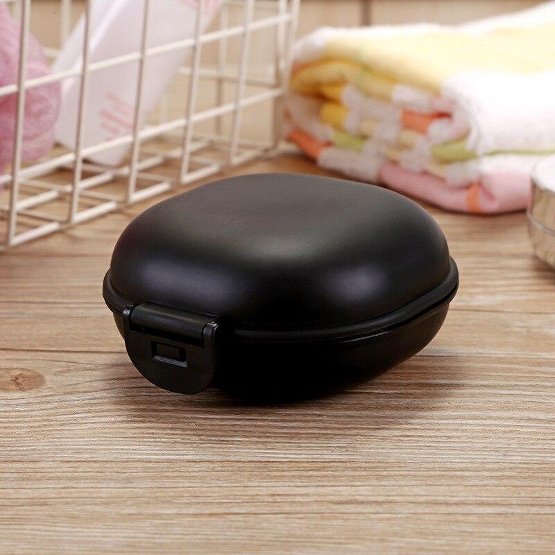 1 шт., чехол для посуды для ванной комнаты, для домашнего душа, путешествий, туризма, держатель, контейнер, мыльница с крышкой, zeepbakje porte savon, держатель для мыла - Цвет: B