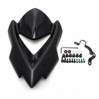 KEMiMOTO Windscreen Windshield For Kawasaki Z1000 for kawasaki Z 1000 2014 2015 Wind Deflectors Motorcycle Accessories