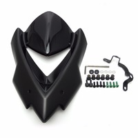 KEMiMOTO Windscreen Windshield for Kawasaki Z1000 2014 2015 Windshield Z 1000 Wind Deflectors Motorcycle Parts