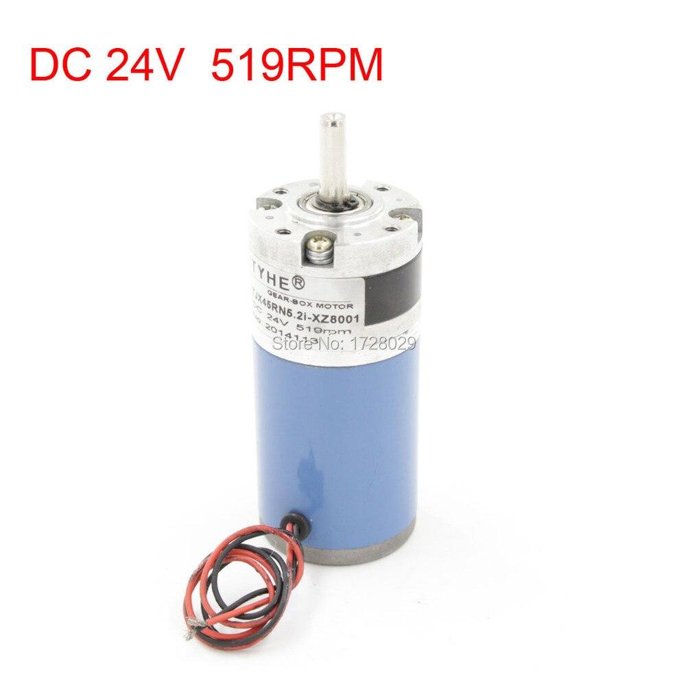 TJX45RN5.2I-XZ8001 DC24V 519RPM 8mm Shaft Diameter Reducing Geared MotorTJX45RN5.2I-XZ8001 DC24V 519RPM 8mm Shaft Diameter Reducing Geared Motor