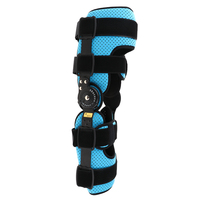 Adjustable Hinged Knee Orthosis Brace Support Ligament Sport Orthopedic Splint Osteoarthritis Knee Pads S / M