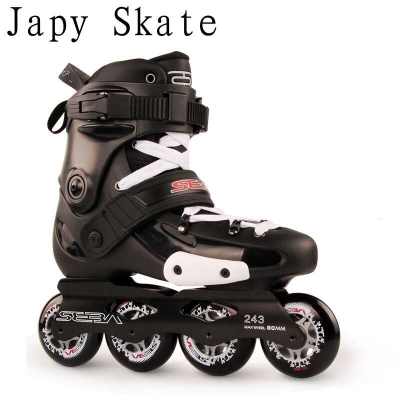 Japy Skate 100% оригинал SEBA FRMX Профессиональный слалом коньки для взрослых роликовые Коньки раздвижные катание Patines