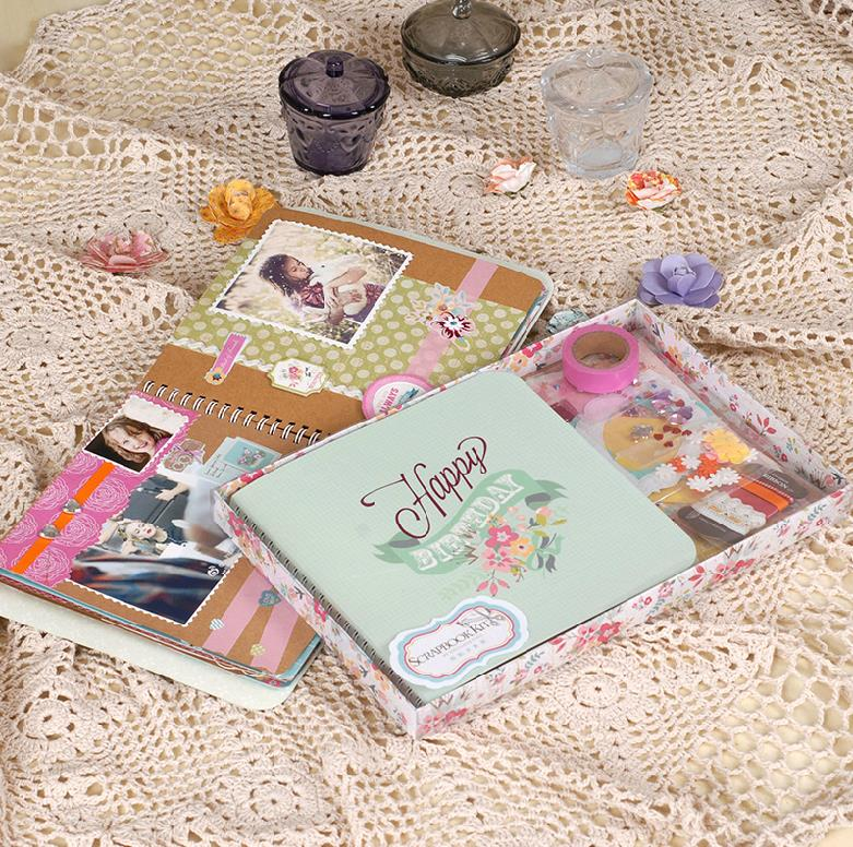 diy photo album cute albums for baby scrapbooking set