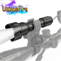 UniqueFire T20 IR 940NM LED Flashlight 3M Zoomable Infrared Light Tactical Adjustable Focus Night Vision Torch for Night Hunting