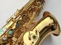French Selmer 802 Drop E Alto Sax Saxofone Professional Musical Instrument Brand S NICA Eletroforese Sax