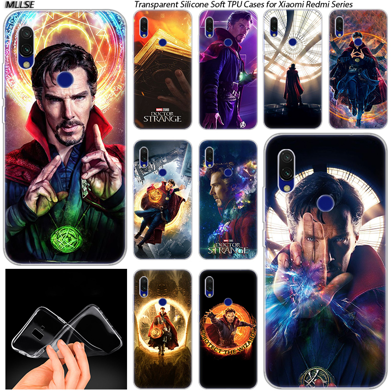 Cellphones & Telecommunications Provided Marvel Doctor Strange Soft Silicone Case For Xiaomi Redmi 7 Go S2 4x 4a 5 5a 5plus 6 6a 6pro Note 4 4x 5 6 7 Pro Fashion Cover Limpid In Sight Phone Bags & Cases