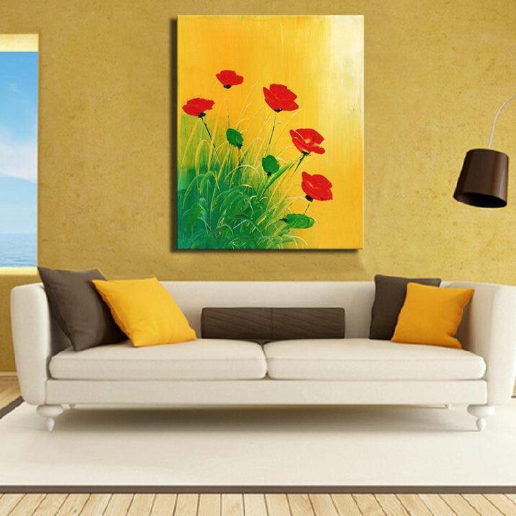 Modern handmade parrot oil painting on line canvas modern animal oil ...