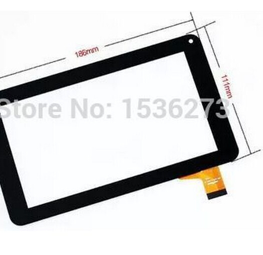 New 7 inch DNS AirTab E76 Tablet Touch screen panel Digitizer Glass Sensor Replacement Free Shipping new for 7 85 inch dns airtab mw7851 tablet capacitive touch screen panel digitizer glass sensor replacement free shipping