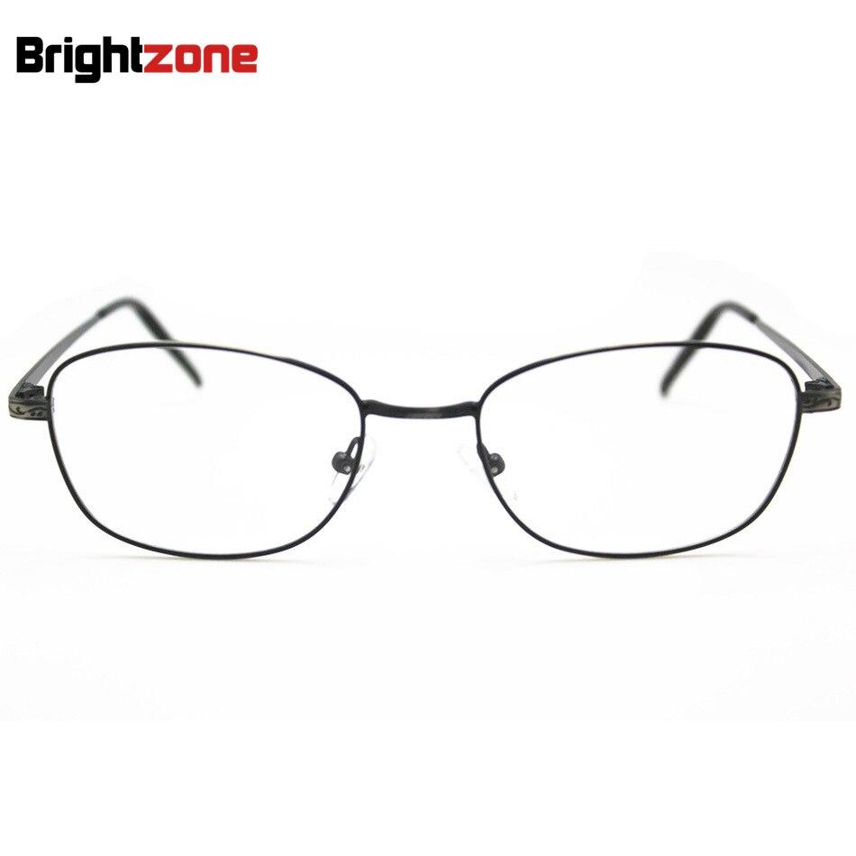2017 Leichte Metall Vollrand Prescription Rx Brillen Kurzsichtigkeit Weitsichtigkeit Astigmatismus Brillengestell Trend Metall Brillengestell