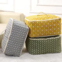 Тканевые пылезащитные сумки для хранения Складная Сумка-хранилище на молнии одеяло/игрушка/одежда/сумка для хранения мелочей хранение подстилок