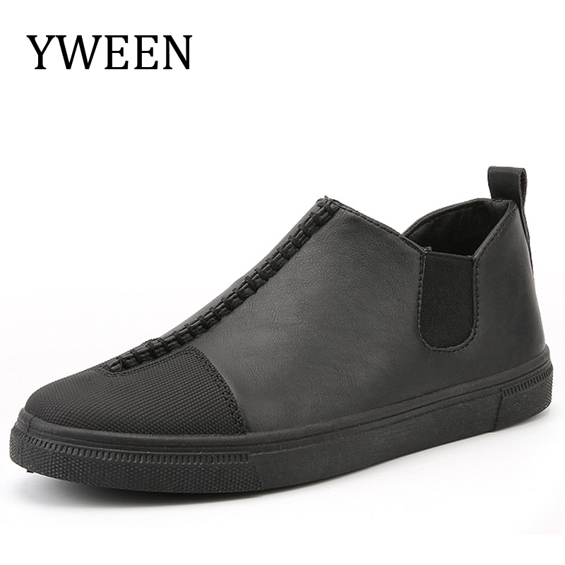 YWEEN 2017 Spring Summer New Men Casual Shoes Hot Sale Slip-on Fashion Trend Flat Youth Loafer Shoe Man aliexpress 2016 summer new european and american youth popular hot sale men slim casual denim shorts cheap wholesale